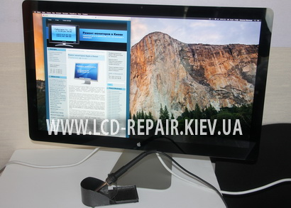 Ремонт монитора 27″ Apple Thunderbolt Display (A1407)