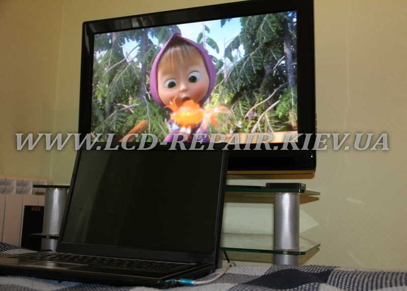Как подключить LCD телевизор к ноутбуку
